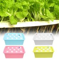 11 Holes Hydroponic Systems Nursery Pots Soilless Cultivation Seedling Box Plant Seedling Grow Kit Planters