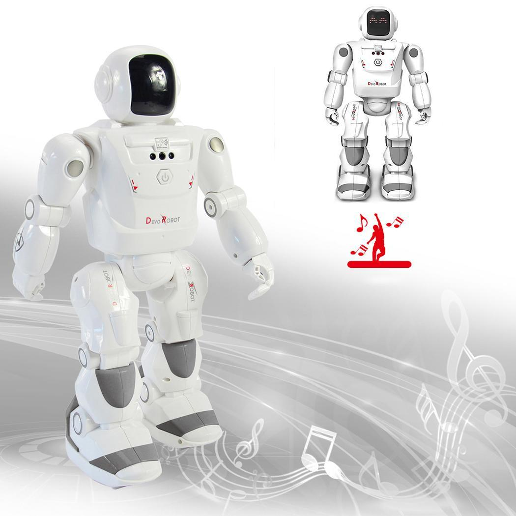Children Remote Control Intelligent Dancing Robot Programmable toy Smart Electric mechanic Kids Toys RC Intelligent Robot Gifts