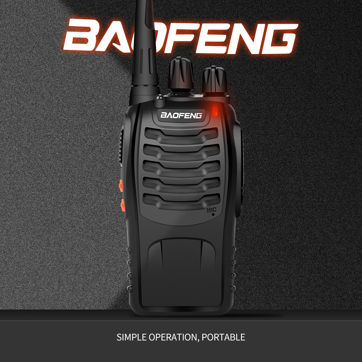 Hot BaoFeng BF-888S Walkie Talkie UHF Two Way Radio Baofeng 888s UHF 400-470MHz 16CH Portable Transceiver With Baofeng Earphone