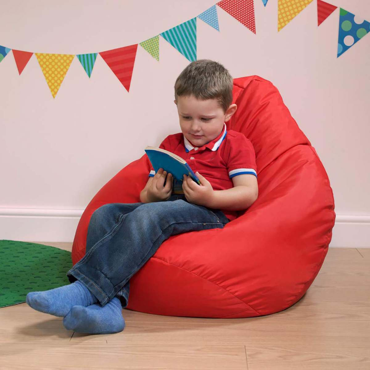 Kids Child Lazy BeanBag Sofas Cover Chairs without Filler