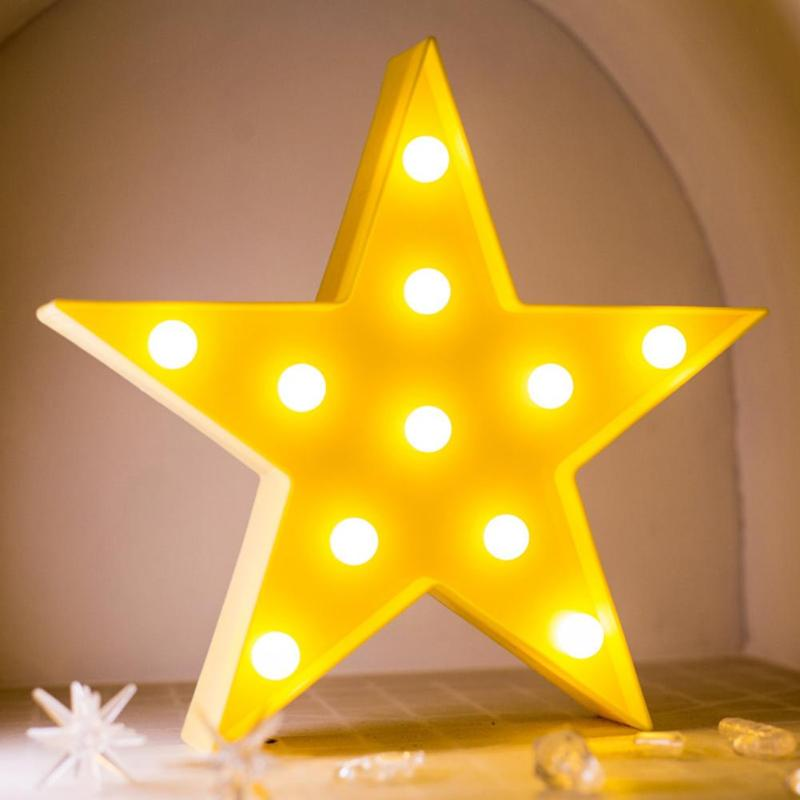 Creative Cute 3d Led Night Light Star/moon/cloud Light Kids Bedroom Indoor Lighting Decor Lamp Let Our Commodities Go To The World Led Lamps
