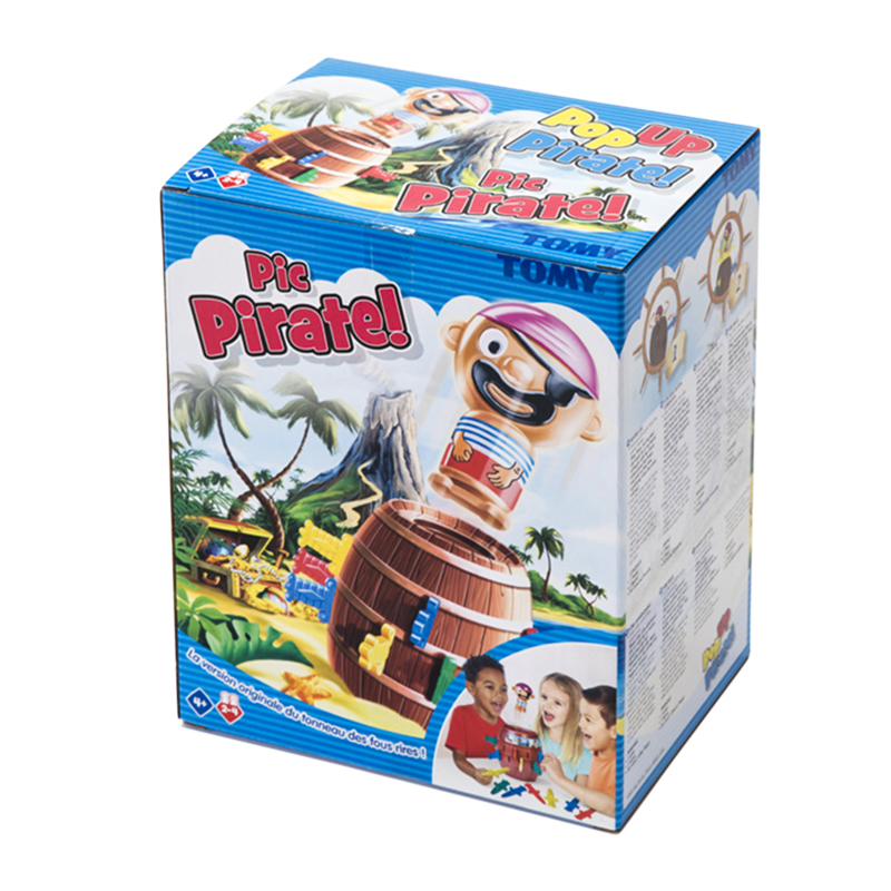 Tomy Pop up Pirate amusant jeu sur Table avec enfant Lucky Stab Gadget Cube Pirate jouets fête d'anniversaire jeu enfants 4 + ans famille