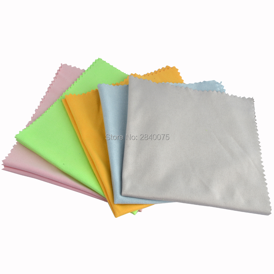 Microfiber Cloth Or Chamois: 1piece 29x29cm Chamois Lens Clothes Eyeglasses Cleaning