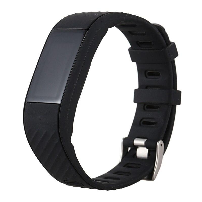 Smart Electronics Fitness Tracker Smart Watch Waterproof,p4 Wristband Blood Pressure Watch Blood Oxygen Heart Rate Monitor Smart Watch Selected Material