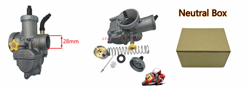 Für Keihin PE28 30 RSZ Vergaser 28 30 mm Carb Für ATV Quad Pit Dirt Motor Bike Roller Moped Motocross motorrad - 6