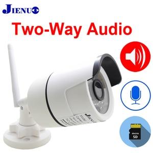Image 3 - IP Kamera Wifi Zwei weg Audio 720 P 960 P 1080 P Cctv Drahtlose Sicherheit Im Freien Wasserdichte 2mp Mini HD Überwachung Infrarot Lautsprecher