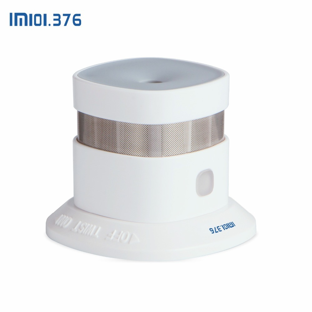 LM101.376 3Pcs Wireless Zwave Smoke Detector Z wave 868.42MHz smart Home Fire detector work with Zwave Hub/gateway - 3