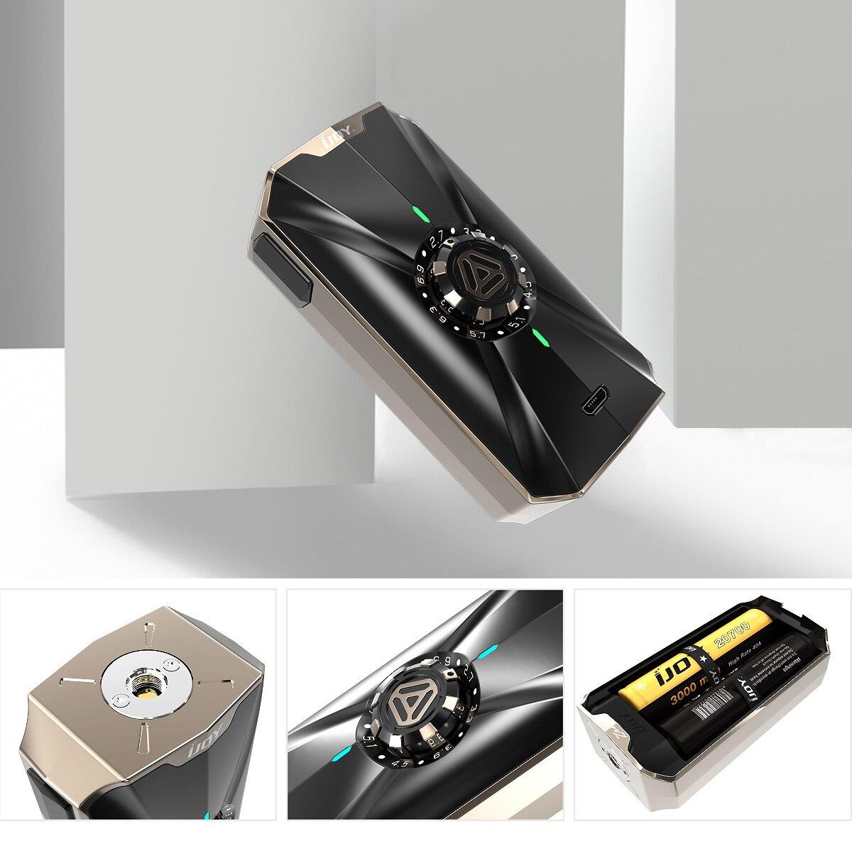 D'origine IJOY Zenith 3 VV Boîte Mod Soutenant 2 pièces 18650/20700 Batteries pour Cigarette Électronique