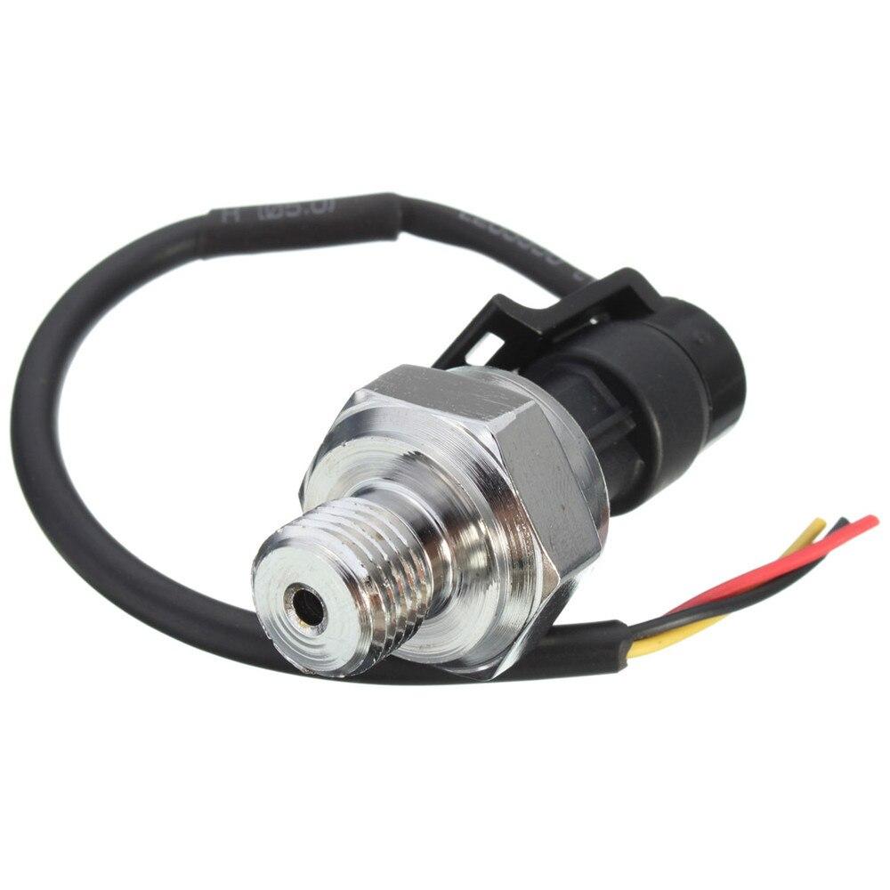 G1/4 zoll Dc5v 0-1,2 Mpa Druck Sensor Sender Transducer Sender Sensor Für Öl Kraftstoff Diesel Luft Wasser Messung Und Analyse Instrumente