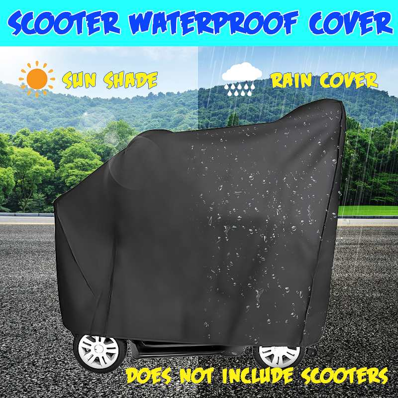140cm Mobility Electric Car Scooter Wheelchair Waterproof Storage Cover Rain Protection 140x68x91cm