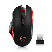 G821 Gaming Mouse Rechargeable Wireless Mouse Adjustable 2400DPI Optical Computer Mouse 2.4Hz Mice for PC Laptop For LOL Dota 2(China)