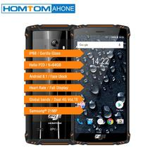 HOMTOM ZOJI Z9 IP68 Waterproof Helio P23 Android 8.1 Octa core Smartphone 5.7″ 6GB 64GB 5500mAh Face ID Fingerprint Mobile phone