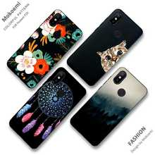 Mokoemi Fashion Pattern TPU Soft 6.26For Xiaomi Redmi Note 6 Pro Case For Cell Phone Cover