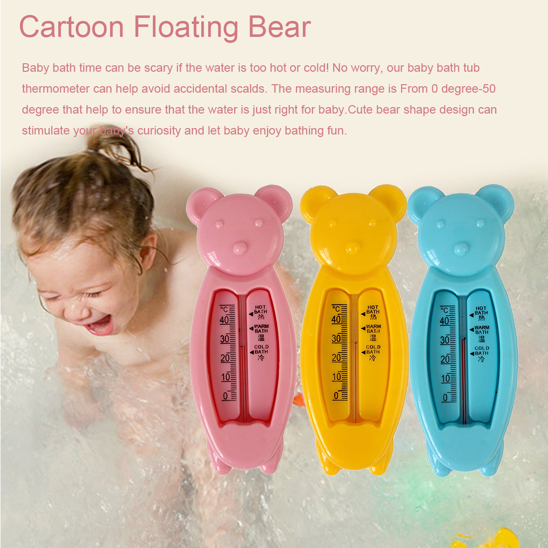 Lovely Bear Baby Bath Water Thermometer Tub Kids Bath Temperature Water Tester Kids Toy Room Water SensorLovely Bear Baby Bath Water Thermometer Tub Kids Bath Temperature Water Tester Kids Toy Room Water Sensor