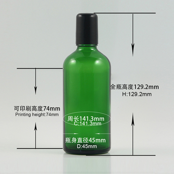 Cosmetic containers 100ml roll-on deodorant bottle with stainless and glass ball sell well