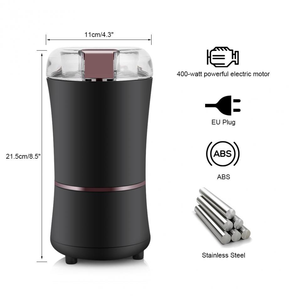 1 Pod 1 Grinder Reusable Stainless Steel Nespresso Capsule 400W Electric Coffee Mill Grinder Beans Spices Nuts Grinding Machine in Coffee Filters from Home Garden