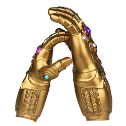 Deluxe Avengers 4 Infinity War Infinity Gauntlet LED Light Thanos Gloves PVC Toys Kids Adult Cosplay Props Party Miniatures