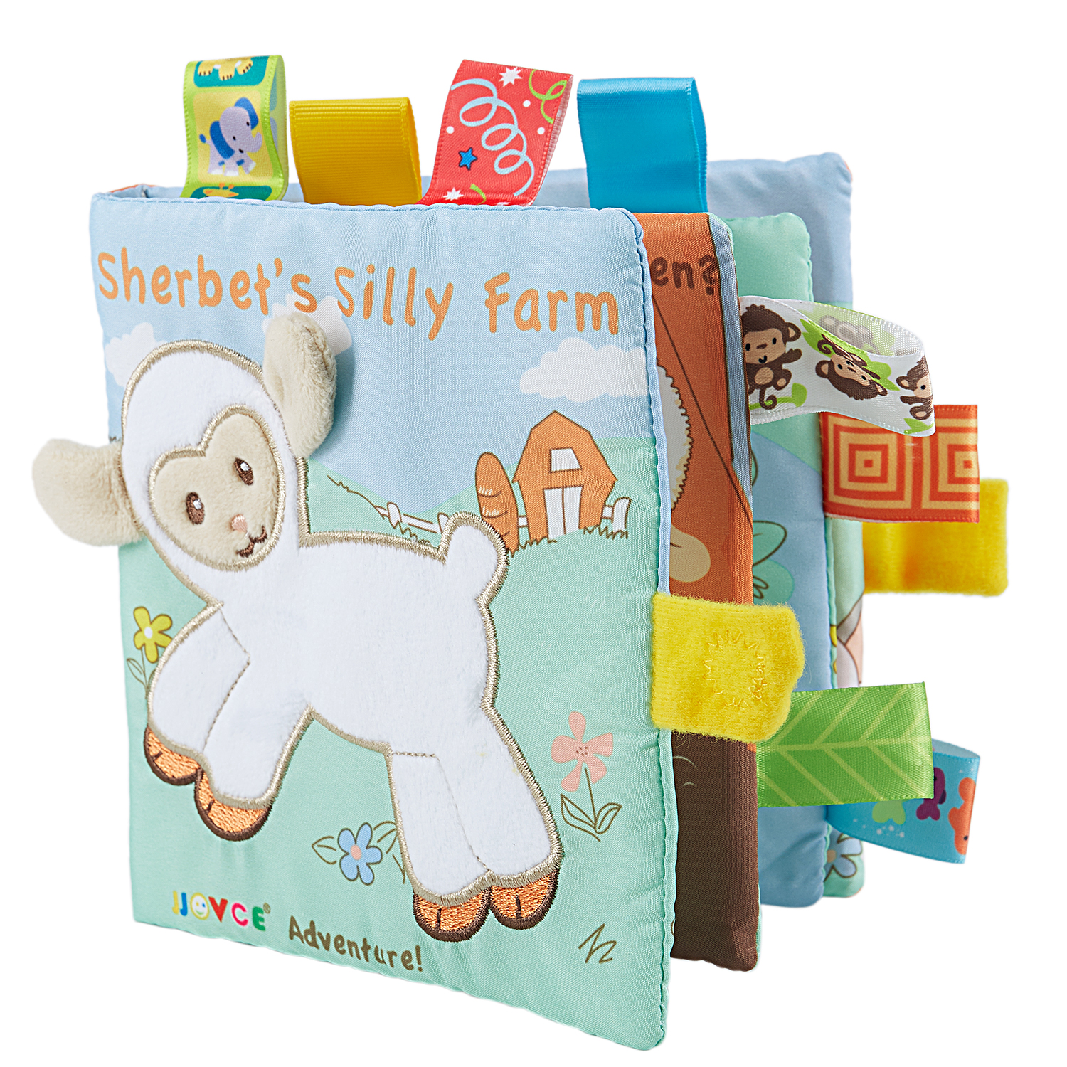 WHYY-Baby Learning&Education Animal embroidery Soft Cloth Book animals Fabric Book Infant Baby Early Education Cloth Books goa