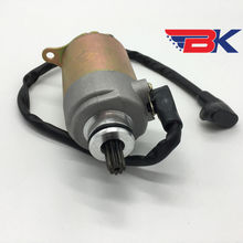 GY6 125cc 150cc Electric Starter Motor with Wire for 4 Stroke 152QMI 157QMJ Scooter Moped ATV Go Kart Engines