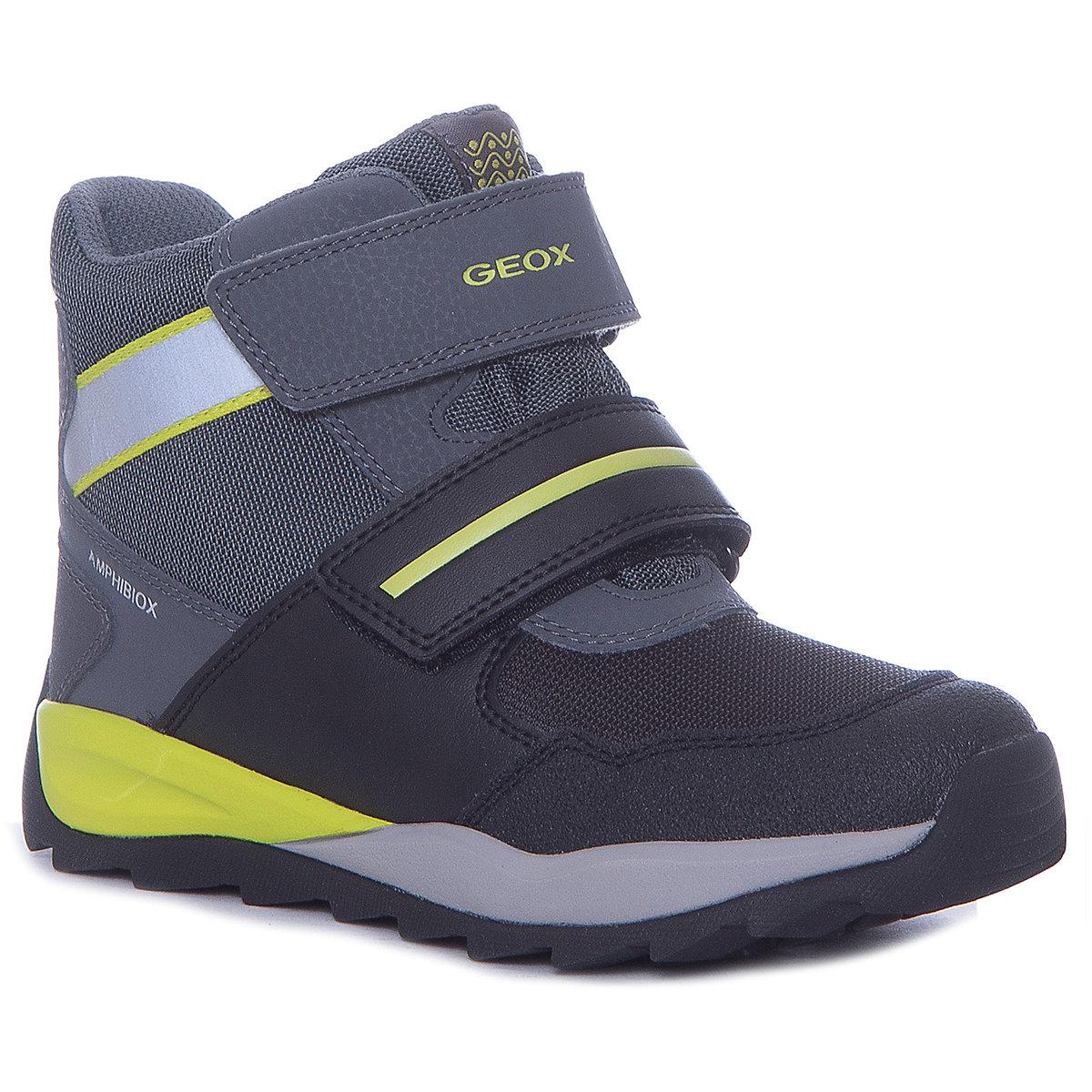 GEOX Boots 8786631 children shoes For boy Winter Boys faux fur MTpromo