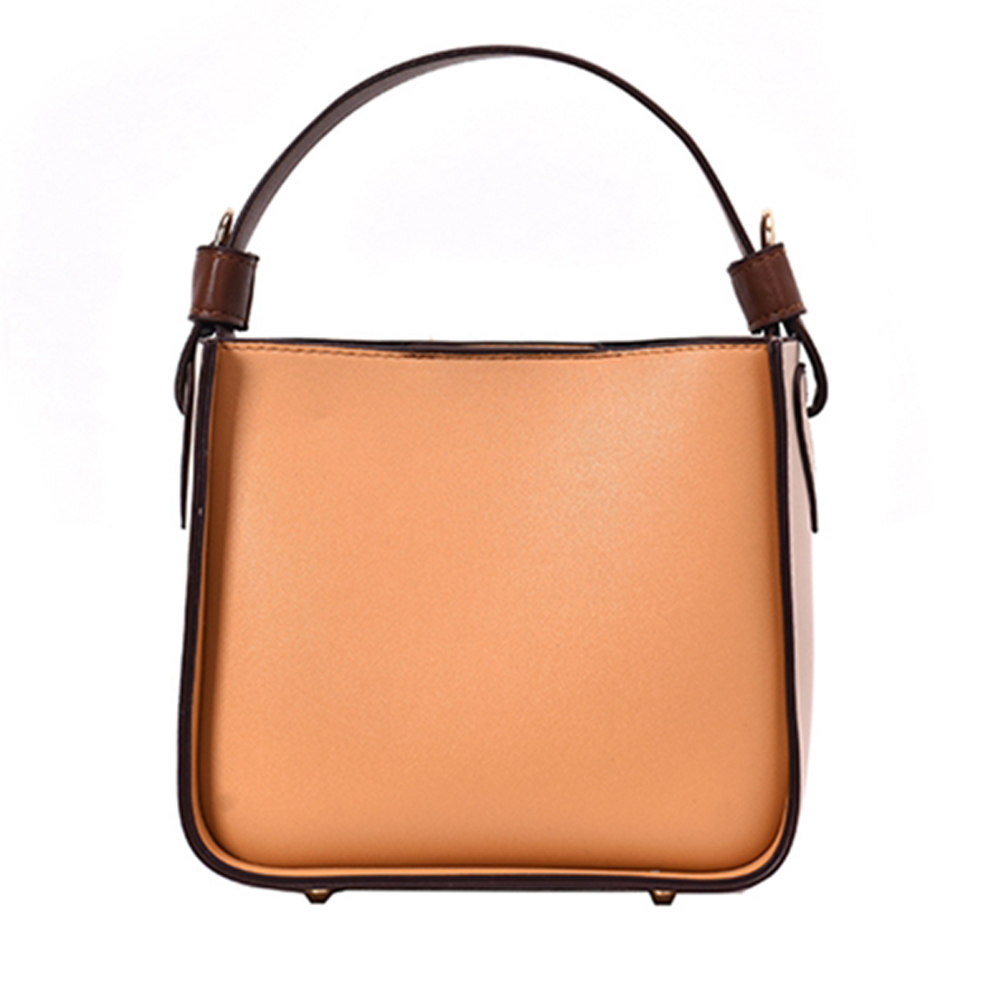 2 Sets Crossbody Bags For Girl PU Leather Designer Bucket Handbag Compound Simple Lady Shoulder Messenger Bag
