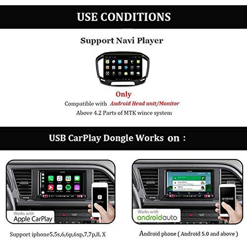 Hot Sale Carplay USB Dongle Fit For Apple IPhone Android Car Auto Navigation Player Gps Tracker