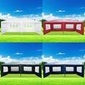 Panana 3x6 m Esterna Impermeabile in PE Da Giardino Gazebo Tendone Baldacchino Tenda Del Partito Grande Attività di Tenda Da Sole