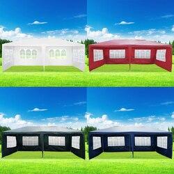 Panana 3x6 m Wasserdicht Outdoor PE Garten Pavillon Festzelt Baldachin Party Zelt Große Aktivität Sonne Schatten