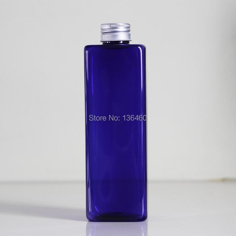 30 pcs 500 ml 사각형 빈 코발트 블루 애완 동물 병 플립 상단 모자 17.6 oz 플라스틱 비누 포장 화장품 bottling 회사-에서리필 병부터 미용 & 건강 의  그룹 2