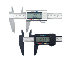 100/150mm Electronic Digital Caliper 6 Inch Carbon Fiber Vernier Caliper Gauge Micrometer Measuring Tool Digital Ruler