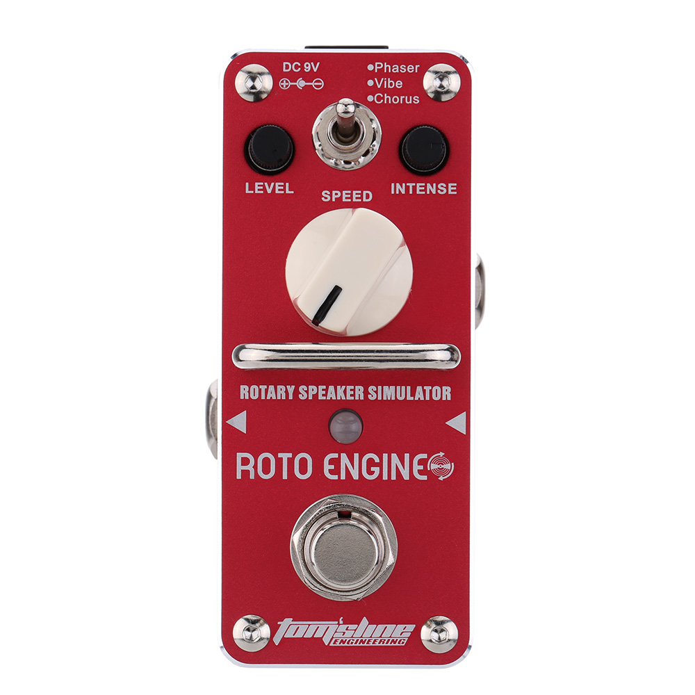 AROMA ARE 3 Roto Engine Rotary Speaker Simulator Mini Single Electric Guitar Effect Pedal with True