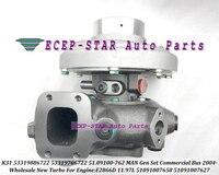 Turbo K31 53319886722 53319706722 51.09100-762 51091007627 51091007658 Voor Man Gen Set Commerciële Bus 2004- E2866D 11.97L 330HP
