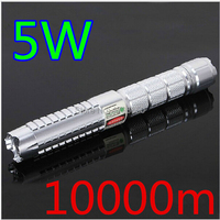 AAA NEW High Powered Military Green Laser Pointer 50w 500000m SOS LAZER Flashlights 532nm Burning Match,Burn cigarettes+5 caps