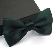 Мужской галстук бабочка 2020 Новый 33 Цвета s атласный Благородный