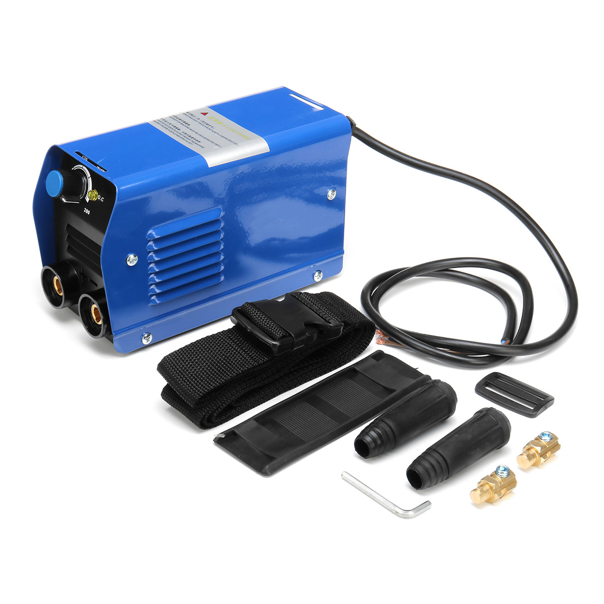 For free 220V Mini Electric Welding Machine Portable Solder 20-200A Inverter Soldering Tool ARC Welding Working