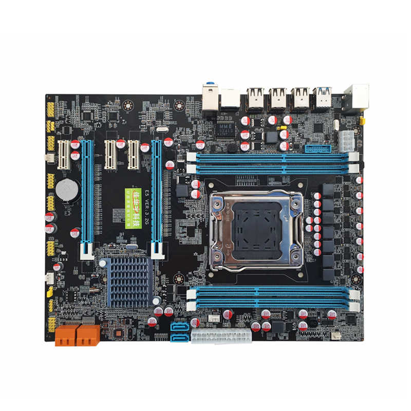 Jia Huayu Professional X79 Motherboard Mainboard for Desktop Computer Server For LGA 2011 DDR3 1866/1600/1333 USB 3.0
