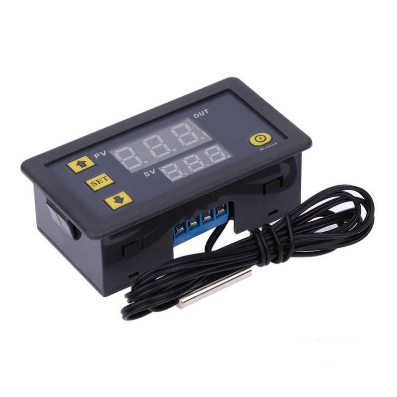 W3230 20A DC12V /AC 220V Thermostat Temperature Controller Digital Thermostat Regulator Heating Cooling Control Instruments