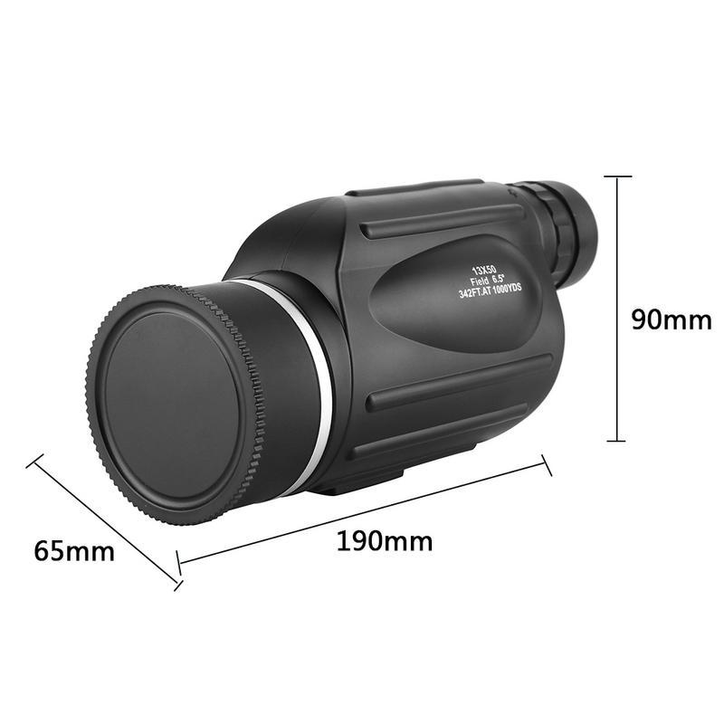 Image 4 - 13x50 HD Monoculars Waterproof Rangefinder Binoculars Telescope Monocular night vision monocular for Outdoor Hunting Travel Camp-in Monocular/Binoculars from Sports & Entertainment