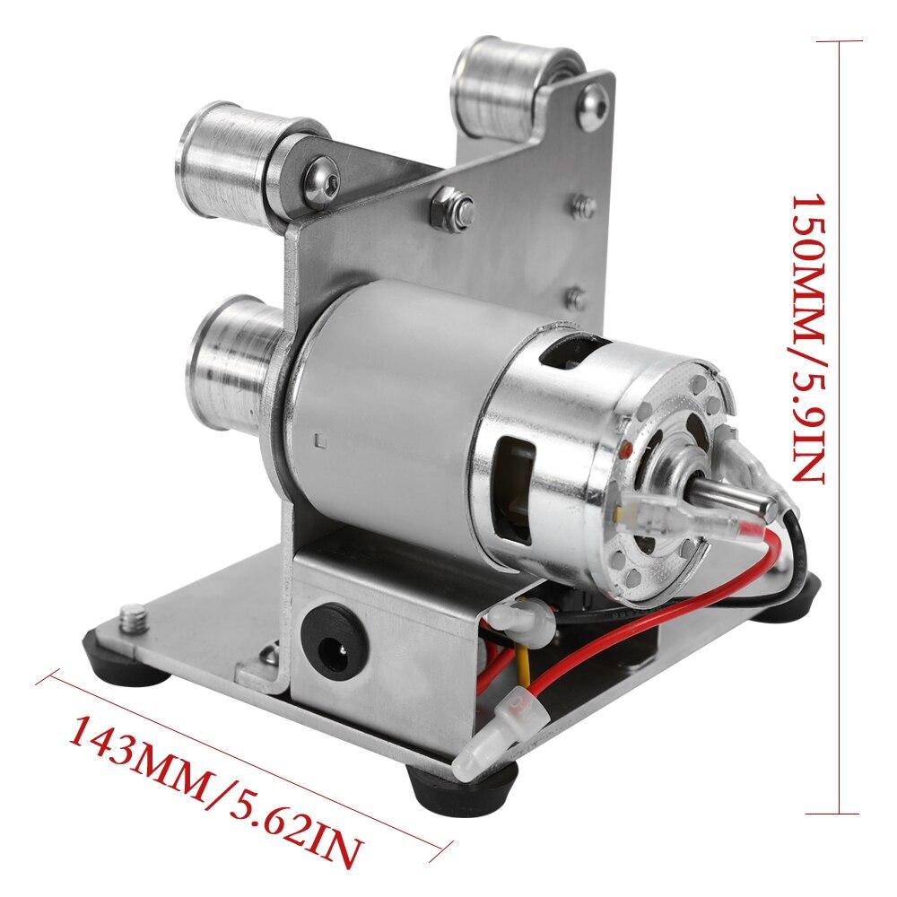 Multifunctional Professional Grinder Mini Portable Electric Belt Sander DIY Polishing Grinding Machine Cutter Edges Sharpener