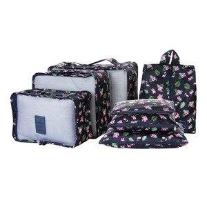 7 Pcs/Set Travel Storage Bag F