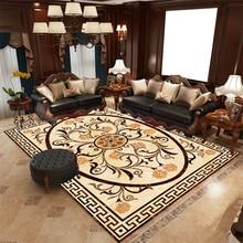 3D Carpets Nordic European Living Room Bedroom Mat Computer Chair Carpet Hanging Basket Rug Bed Blanket Pad for Yoga Washable