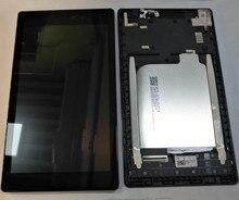 """7.0 """"עבור Lenovo Tab 2 A7 10 A7 10 A7 10F A7 20 A7 20F LCD מסך תצוגה + מגע Digitizer עצרת עם מסגרת החלפת חלקים"""