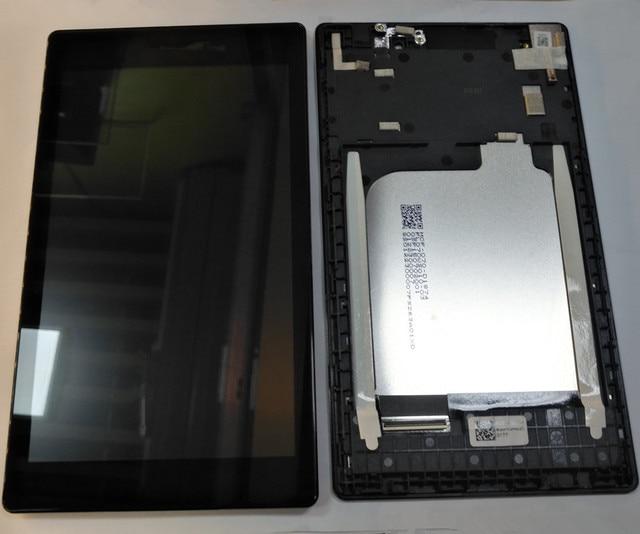 """7.0 """"Voor Lenovo Tab 2 A7 10 A7 10 A7 10F A7 20 A7 20F Lcd scherm + Digitizer Vergadering Touch Met frame Vervangende Onderdelen"""