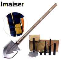 Multi purpose engineering shovel Folding self defense shovel Outdoor camping supplies tools Survival equipment