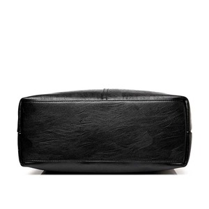Image 3 - 2019 New Ladies Hand Bag Womens Genuine Leather Handbag Black Tote Bag Bolsas Femininas Female Shoulder Bag Leather Women