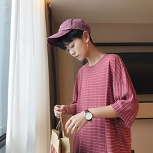 19 Xingang Wind Short Sleeve T Pity Male Seven Part On Clothes Half Trend Fivepence Qian Tang 17555 - P35
