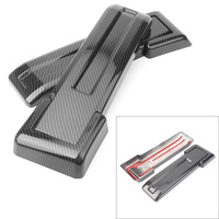 Tailgate Spare Tire Hinge Cover Trim For Jeep Wrangler JK 2007 2008 2017 Carbon Fiber Styling ABS Plastic