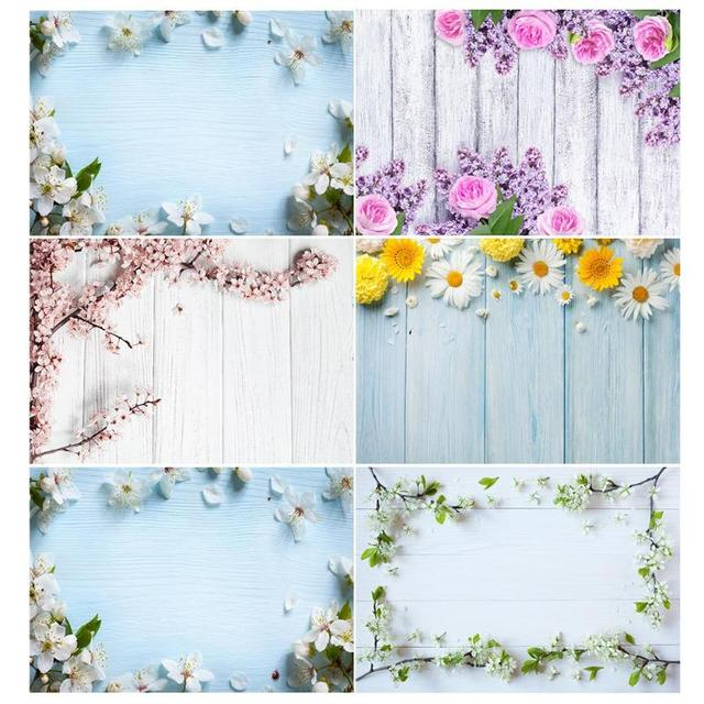 Small Fresh Flowers Waterproof Photography Backdrops Studio Video Art Cloth Fabric Photo Background Decoration New Arrival