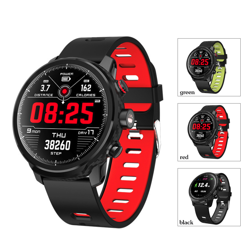 L5 Smart Watch Men IP68 Waterproof Standby 100 Days Multiple Sports Mode Heart Rate Monitoring Weather Forecast Smartwatch