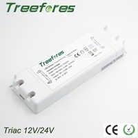 Triac 8W 15W 25W 50W 75W drivers gradateurs de LED adaptateur ca 110V 220V 230V 240V à DC 12V 24V transformateur d'alimentation régulateur